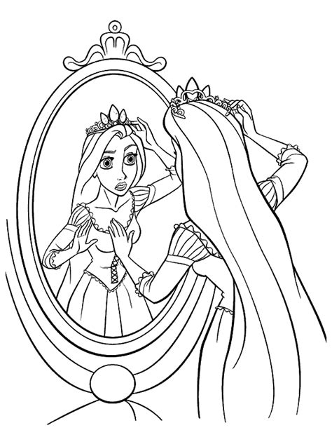 hawaiian princess coloring pages ausmalbilder f 252 r kinder prinzessin rapunzel