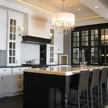 black kitchen island with black cup pull hardware transitional black kitchen island with black cup pull hardware