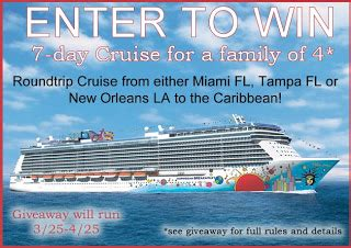 Caribbean Cruise Giveaway - enter to win 7 day caribbean cruise for 4 enter to win contests