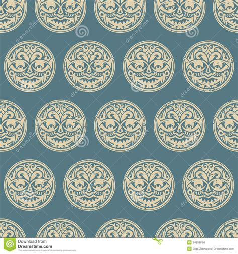 tribal seamless pattern stock vector image 54858854