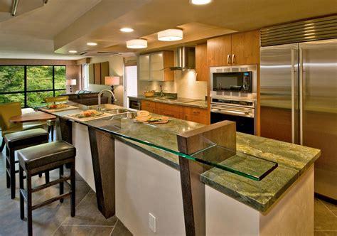 open kitchen island designs open kitchen design
