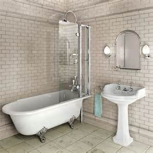 Roll Top Bath With Shower Curtain bath tubs with shower free standing in home useful