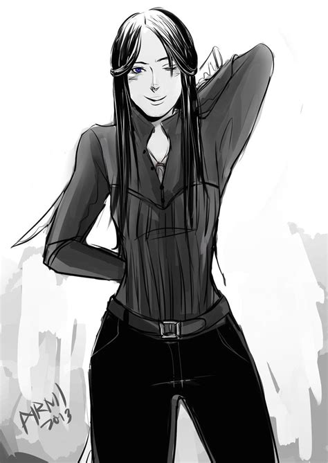 TID girls in their Shadowhunter gear: Cecily Herondale in