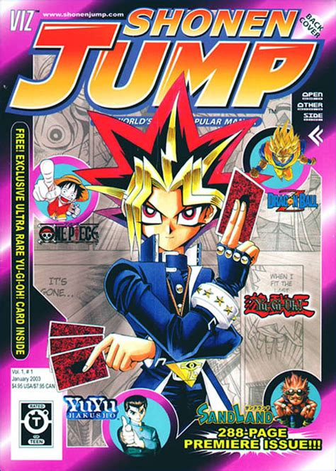shonen jump vol 1 issue 1 promotional card yu gi oh
