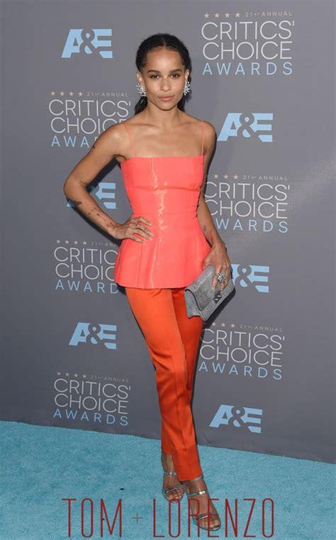 zoe kravitz red carpet fashion awards zo 235 kravitz in dior couture at the critics choice awards