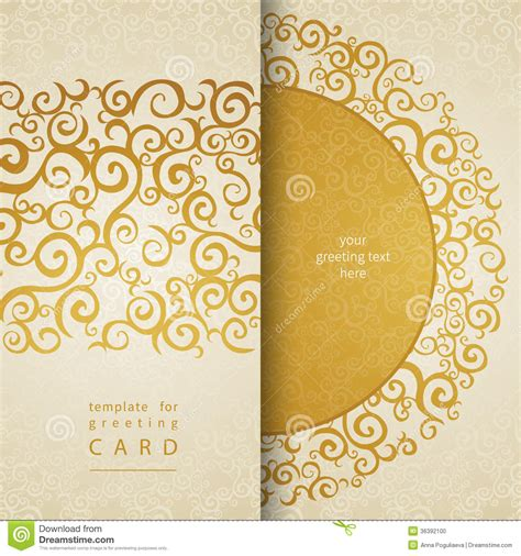 greeting card text templates vintage greeting cards stock vector illustration of