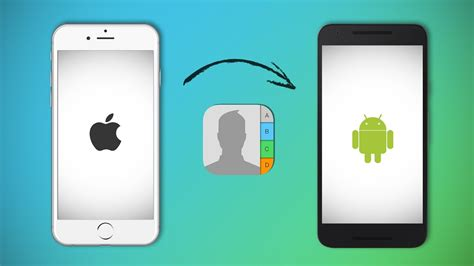 how to transfer contacts from iphone to android technobezz