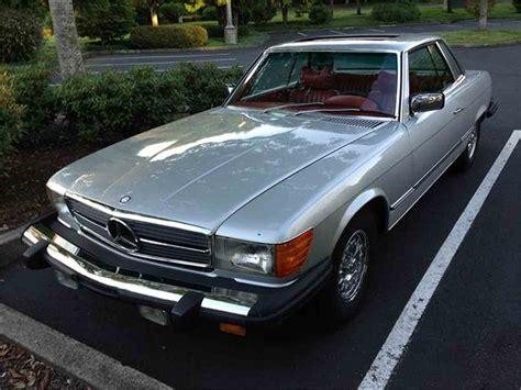 1977 mercedes 450slc for sale classiccars cc