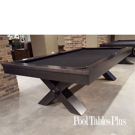 industrial pool table plank hide vox pool table