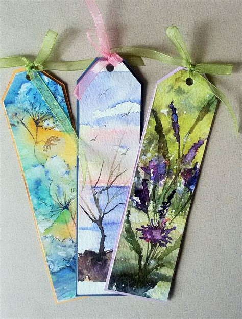 Handmade Bookmarks Designs - best 25 handmade bookmarks ideas on diy
