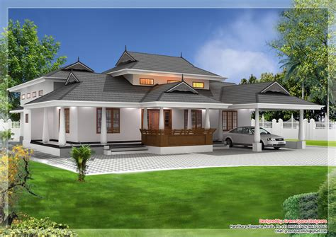 kerala style home design and plan kerala house model tradtional house pinterest