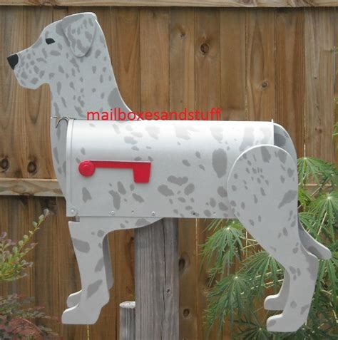 Handmade Mailbox - great dane mailbox