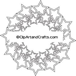 star border coloring page stars frame border mandala design coloring page