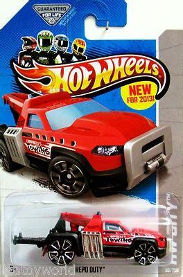 Tm Hotwheels Repo Duty 2013 wheels repo duty tow truck city works hw city 50 250 black 2013 wheels