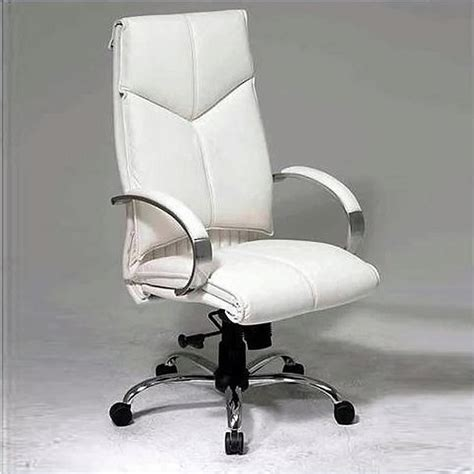 cymax office furniture white leather executive office chair 7270