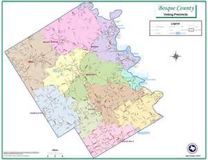 bosque county map polling locations bosque county