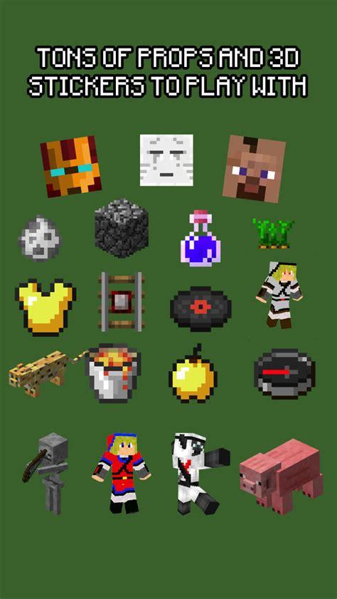 buy minecraft stickers pixel camera ios  ios