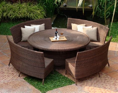 Rattan Dinning Set Garden Furniture Pinterest