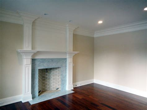 Fireplace Hearth Trim by High Mount Carpentry Fireplace Mantels