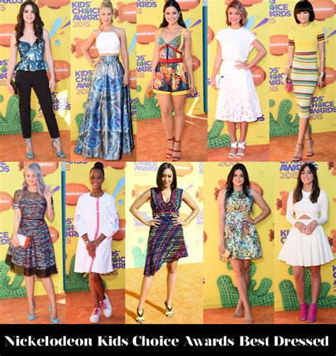 2008 Nickelodeon Choice Awards Worst Dressed by Who Was Your Best Dressed At The 2015 Nickelodeon