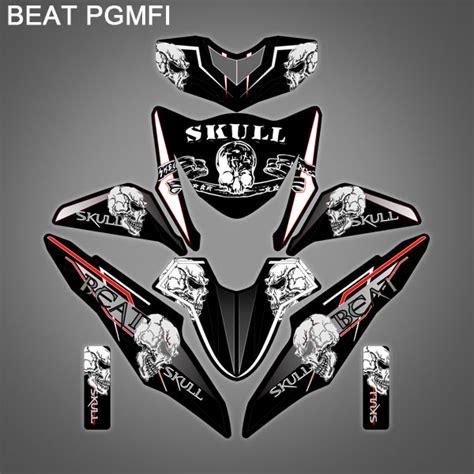 Stiker Motor Beat Thailook 06 stiker honda beat pgmfi a 002 stiker motor pekanbaru