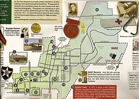 houston gate map fort sam houston museum war and museums on