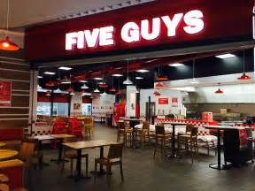 Five Guys Five Guys Opens Second Site In Scotland At Silverburn