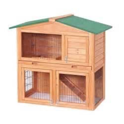 clapier en bois clapier pour lapins en bois 100 x 54 7 x 99 6 cm achat