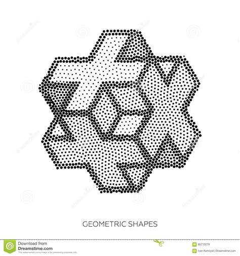 imagenes abstractas con puntos figuras geom 233 tricas tridimensionales recogidas de puntos