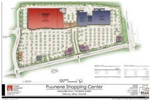 site plan creator maui now puunene shopping center to create 300 jobs