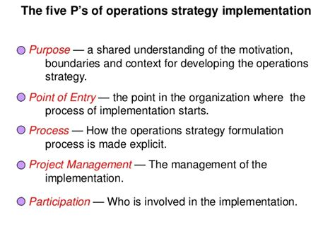 Mba Strategy And Operations by Pgbm03 Mba Operation Management Session 03 Operations