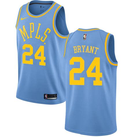 Jersey Authentic Nike Bryant Lakers Black Nba Stitched Jersey Sz nike lakers 24 bryant black nba swingman 2018 all jersey nba los angeles