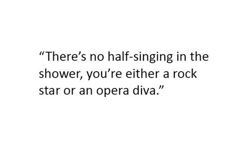 bathroom singer quotes singing in the shower