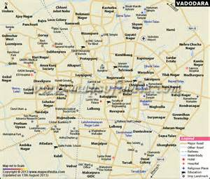 vadodara city map
