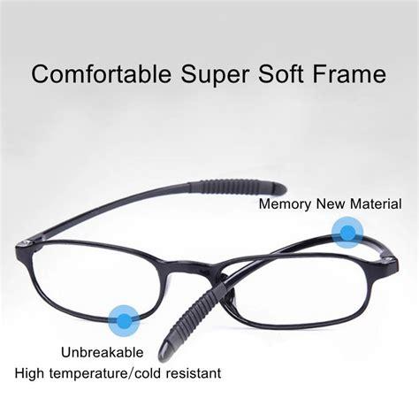 tr90 ultralight unbreakable reading glasses pressure