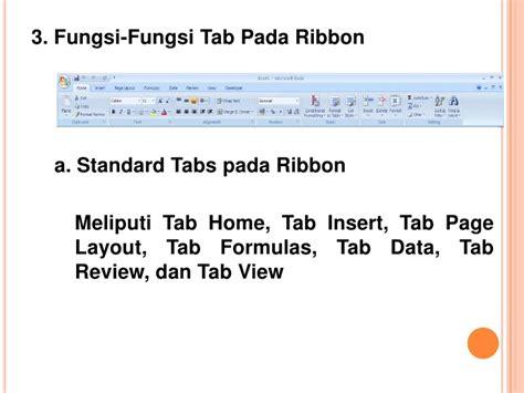 fungsi layout tab presentasi