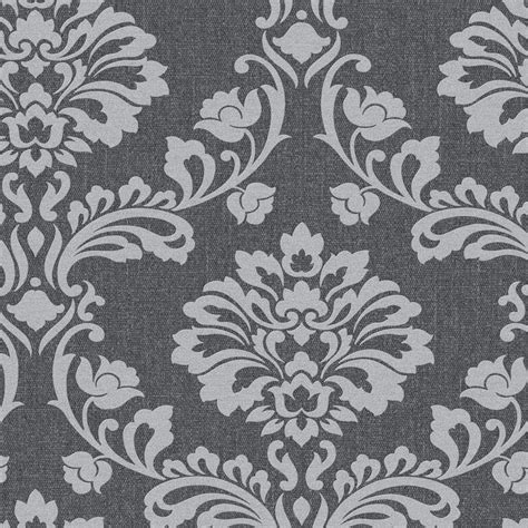 black grey wallpaper designs shop graham brown midas 56 sq ft grey vinyl textured