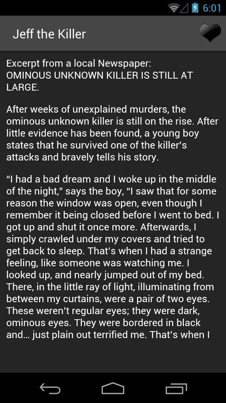 Creepypasta Stories for Android - APK Download