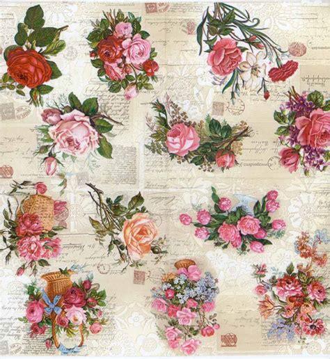 Decoupage Paper Napkins - decoupage napkins baskets of roses floral napkins