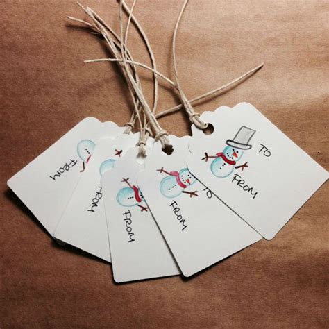 60 super creative christmas gift tag ideas