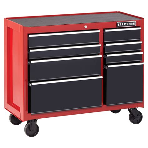 craftsman tool storage craftsman 41 quot 8 heavy duty rolling red