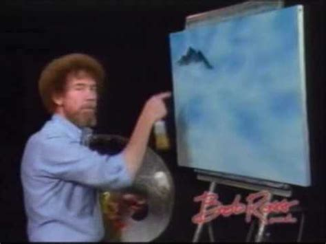 bob ross of painting years bob ross painting mountains