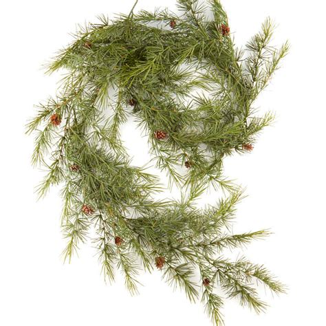 realistic artificial pine garland artificial greenery