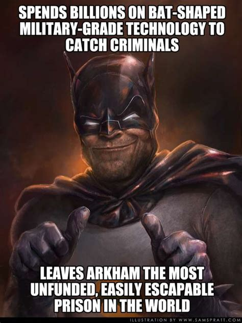Batman Funny Meme - scumbag batman memes impossible astronaut