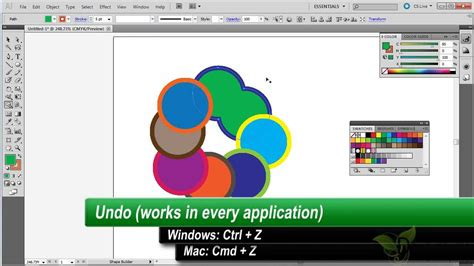 illustrator tutorial merge shapes how to combine and trim shapes in adobe illustrator youtube
