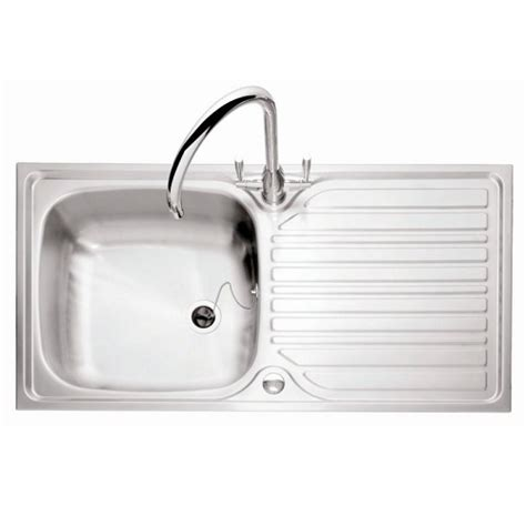 Inset Sinks Kitchen Stainless Steel Caple Crane 100 Stainless Steel Inset Kitchen Sink