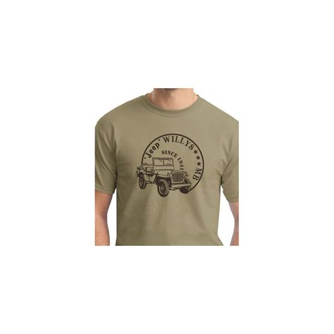 Kaos Tshirt Jeep Est 1941 Tshirt Jeep Willys Mb Since 1941 M1tactic
