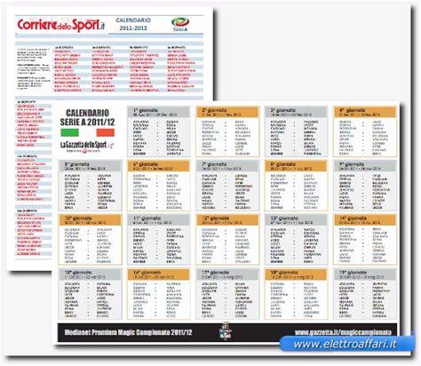 Calendario Serie A Pdf Calendario Serie A 2011 2012 In Pdf Da Stare