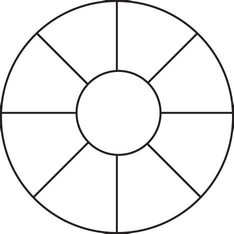 blank wheel of template citizenship dakota studies