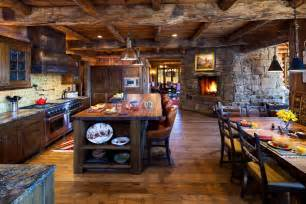 Log Home Kitchen Design Ideas 10 rustic kitchen designs that embody country life